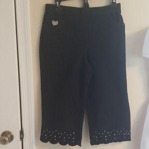 Quacker Factory Crop Pants
